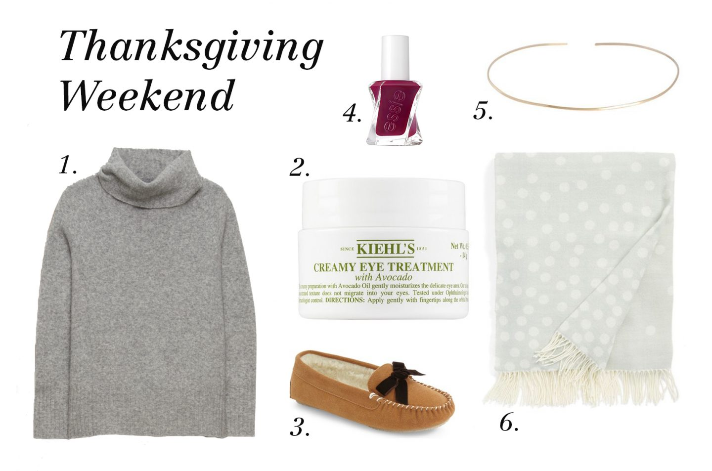 Cozy Thanksgiving Weekend Must Haves