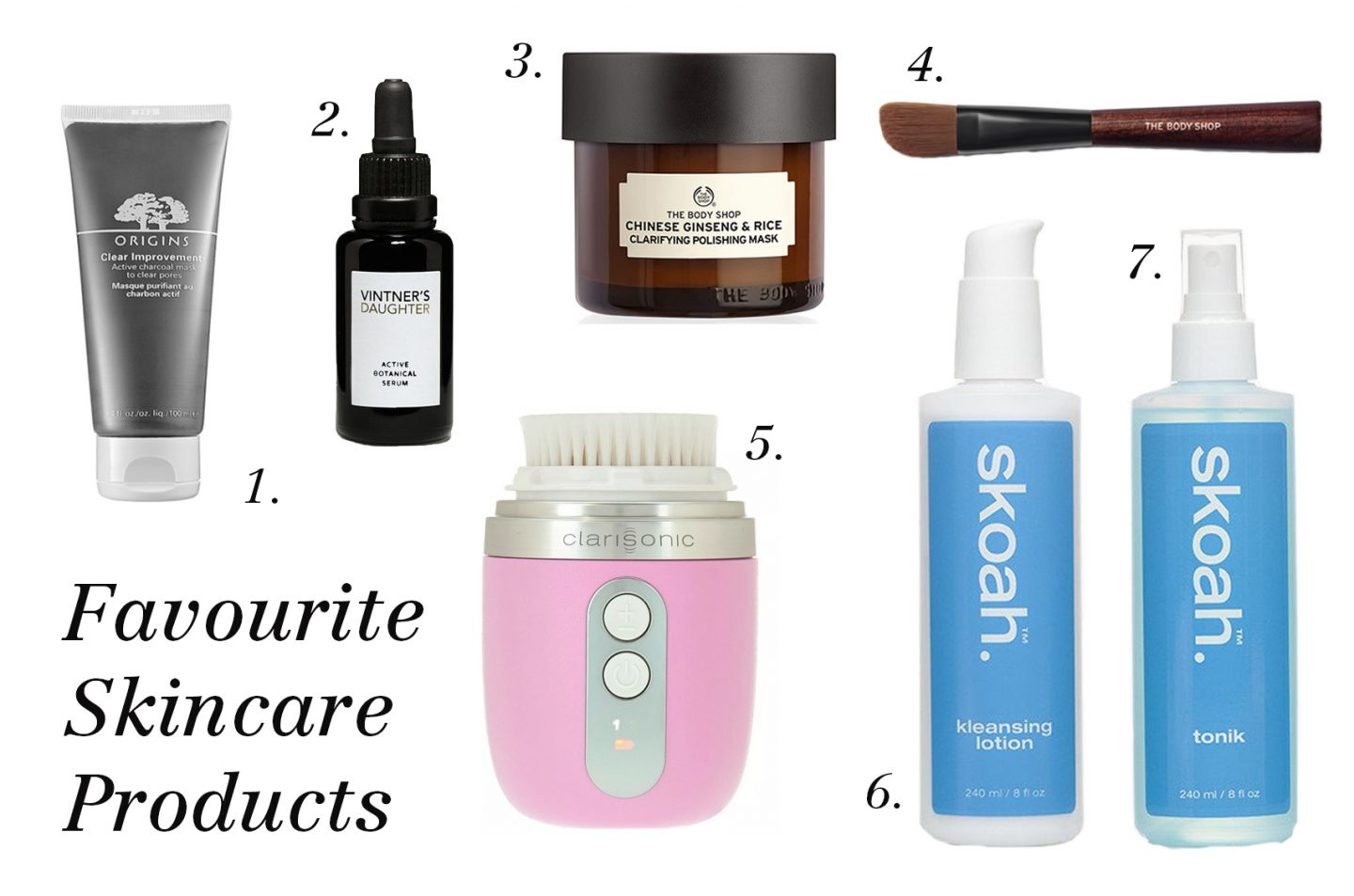 Must Haves: My Favourite Skincare Products