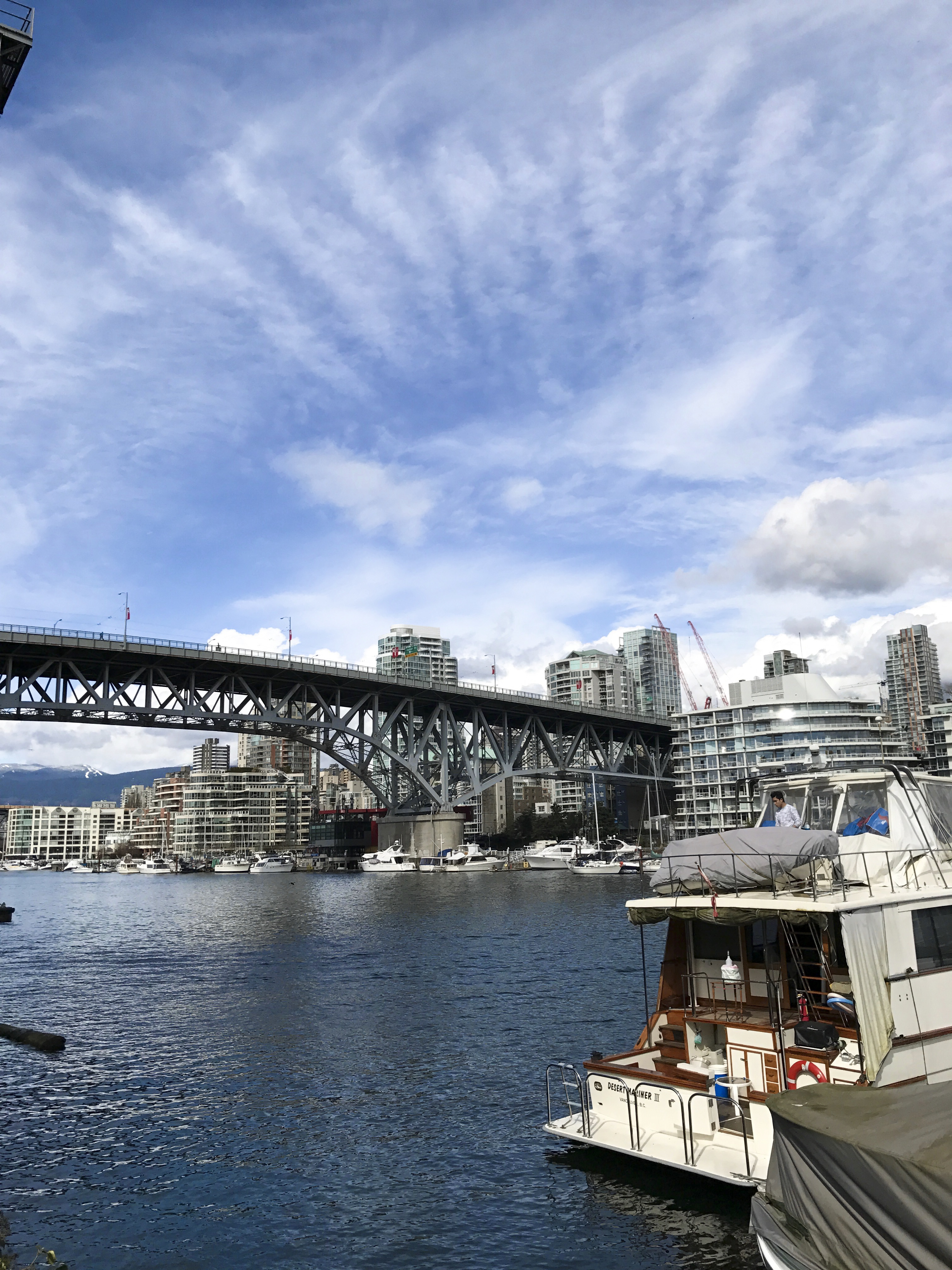 Exploring Granville Island with the Ford Escape