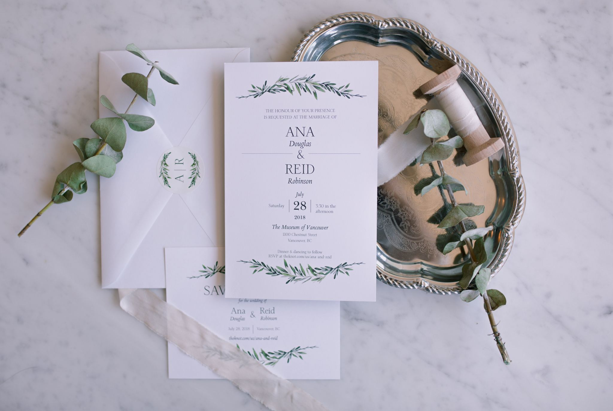 Why I Chose Vistaprint for My Wedding Invitations - Ana Douglas